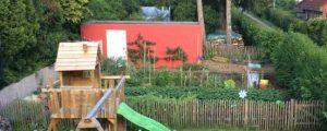 Gesamtansicht Selbstversorgergarten Frühling 2017